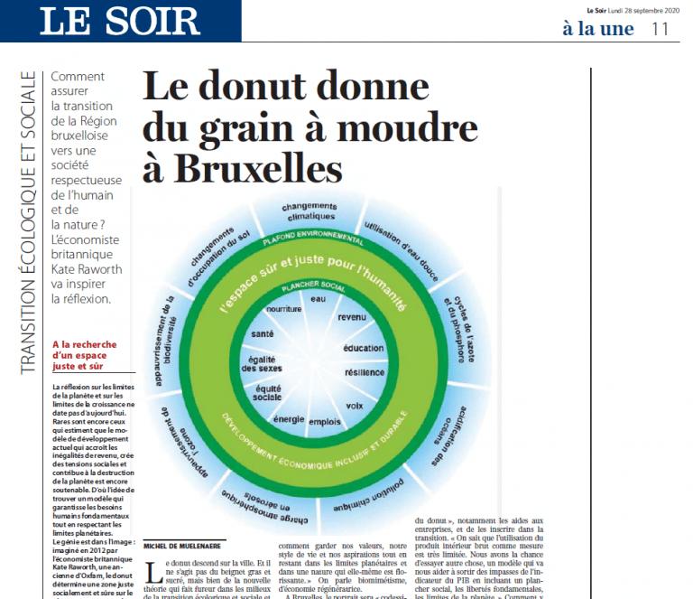 BrusselsDonut Le Soir